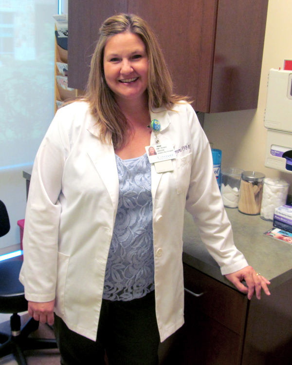 Amy Greene, NP, Great Smokies Family Medicine, has helped many patients find rest after systemic exertion intolerance disease.