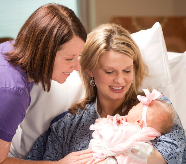 Personal attention and modern technology combine to make a memorable and pleasant birth experience.