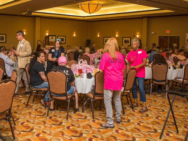 Guests enjoyed networking and a delicious meal prepared by the Holiday Inn Pigeon Forge, and cupcakes by Gigi's.