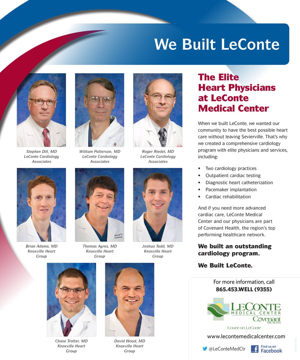 We Built Leconte Cardiology Ad