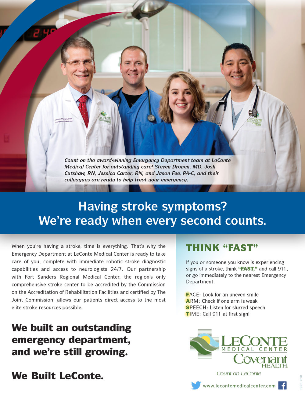 We Built LeConte Emergency Department ad