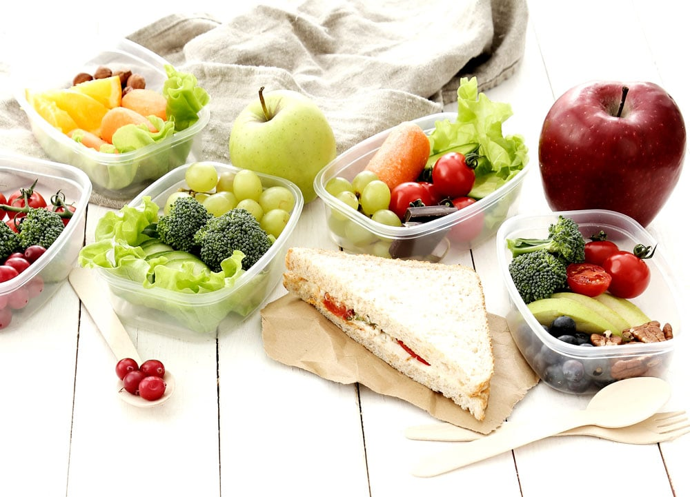 Healthy lunch options for kids