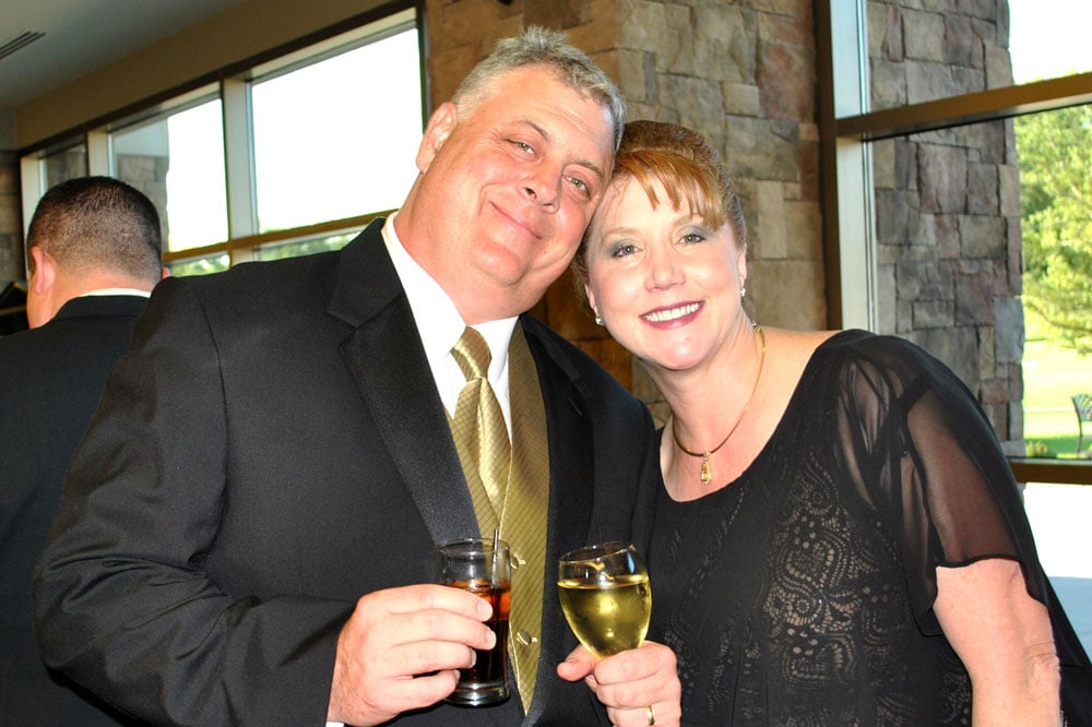 LeConte Medical Center chief of staff Cliff Cole, MD, and his wife Collen Cole, DNP, enjoyed the fundraising event.