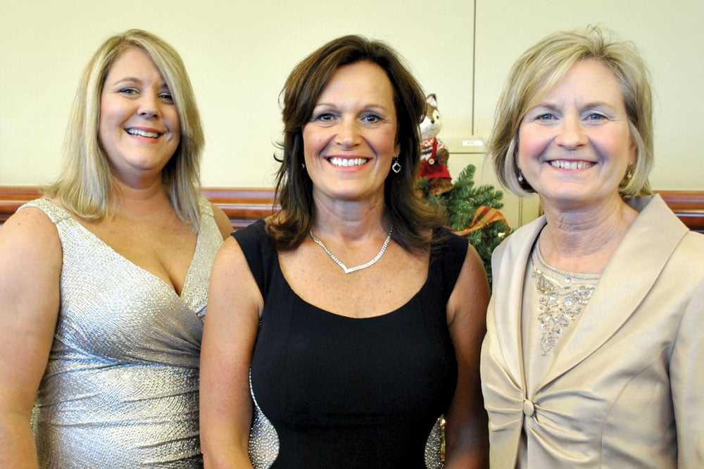 The administrative team of LeConte Medical Center was well represented by Jennifer DeBow, chief nursing officer; Jackie Hounshell, chief financial officer; and Jenny Hanson, president and CAO.