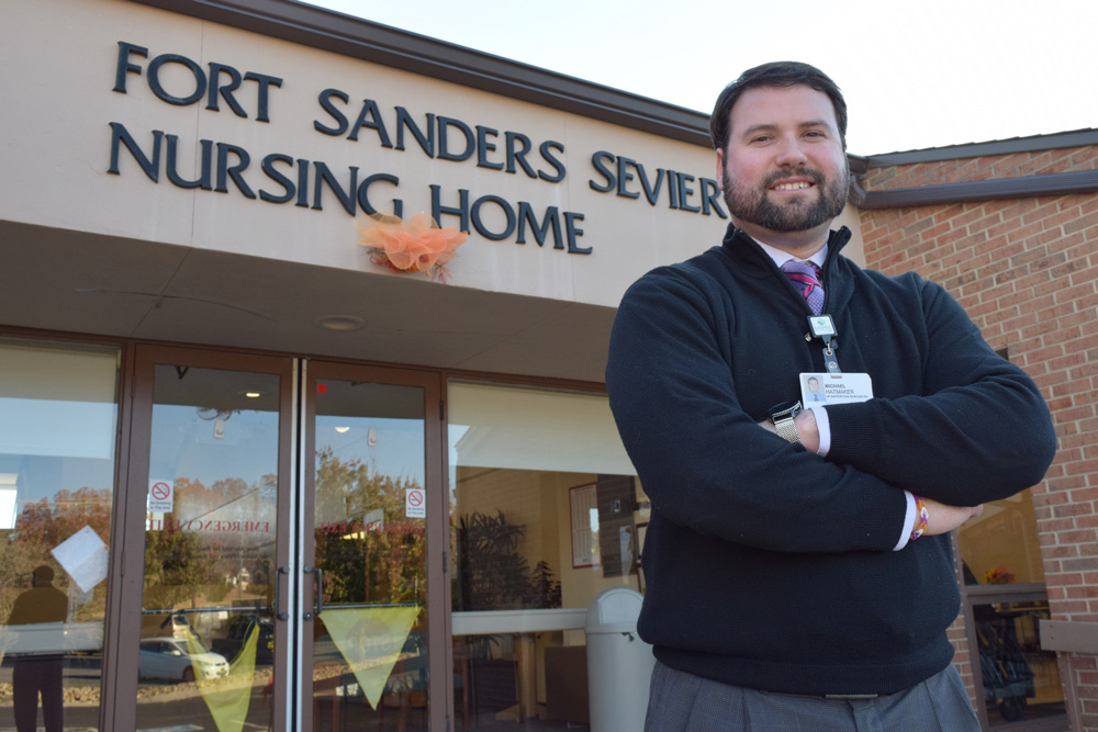 Michael Hatmaker, LeConte Medical Center vice president of support services and administrator, Fort Sanders Sevier Nursing Home
