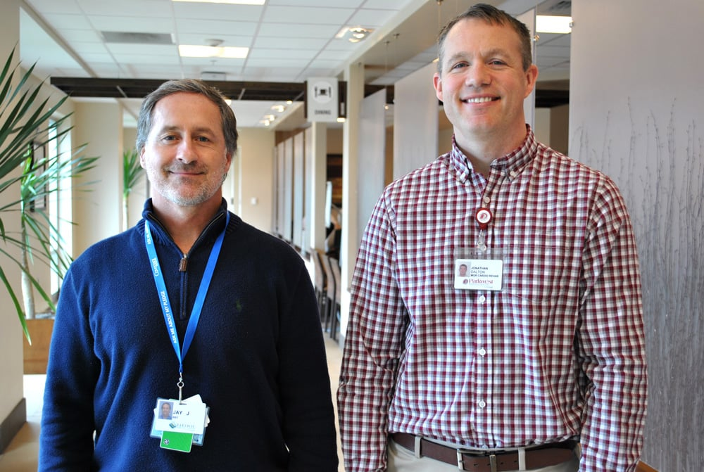 Jay Jordan and Jon Dalton have been recognized for passing the Certified Cardiac Rehabilitation Professional exam.