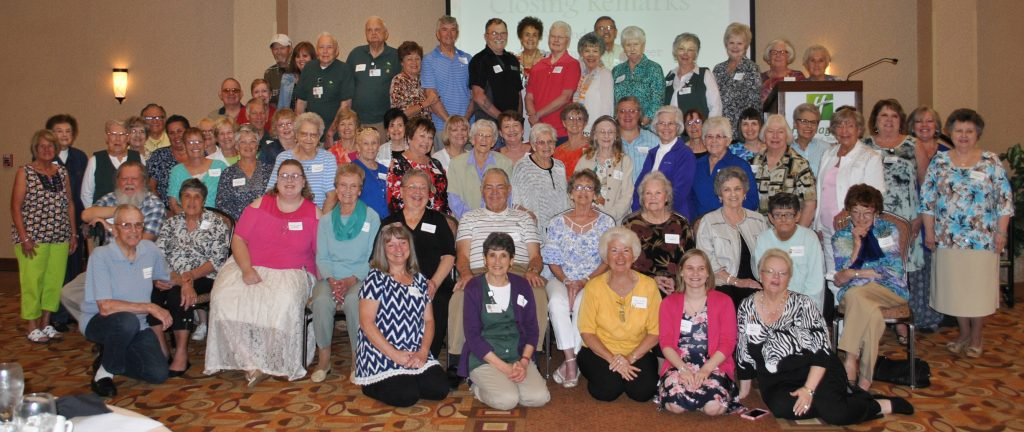 The volunteers at LeConte Medical Center were honored for their contributions to the medical center, nursing home and cancer center during a recent luncheon.