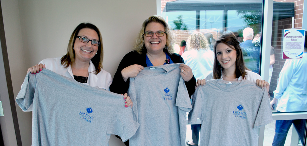 LeConte Medical Center celebrated National Hospital Week with a picnic and t-shirts for employees. THANK YOU to all our employees for the care you provide to area residents and visitors all year long!