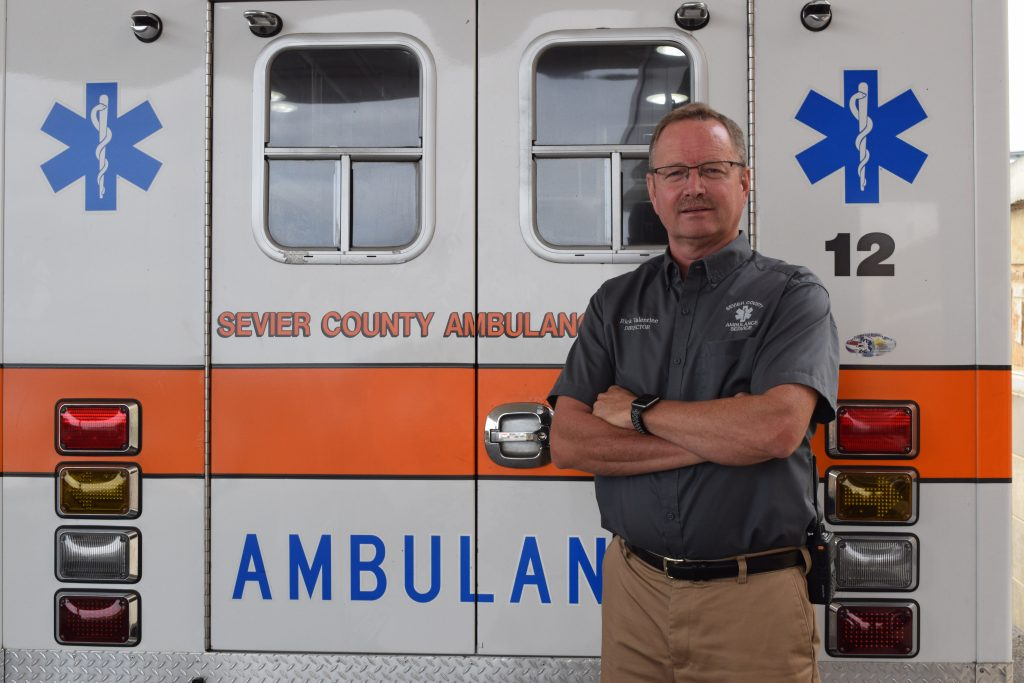Sevier County EMS Director Rick Valentine